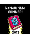 logo nanowrimo winner 2013