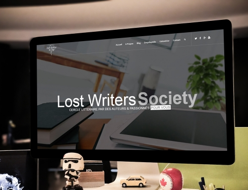 Lost Writers Society – Site Internet